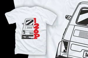 "Koszulka t-shirt ""LOWERED 126p"""
