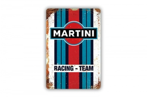 "Blacha / tablica ozdobna ""MARTINI RACING TEAM"" 20x30 cm"